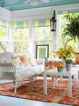 Perfect White Sunroom Design Ideas That Look So Awesome 24