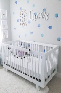 Relaxing Baby Nursery Design Ideas With Polka Dot Themes To Try Asap 07