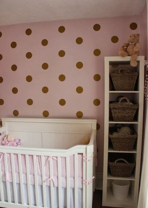 Relaxing Baby Nursery Design Ideas With Polka Dot Themes To Try Asap 09