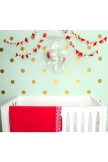 Relaxing Baby Nursery Design Ideas With Polka Dot Themes To Try Asap 10