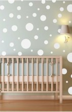 Relaxing Baby Nursery Design Ideas With Polka Dot Themes To Try Asap 17
