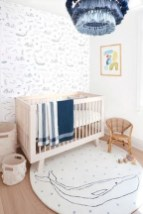 Relaxing Baby Nursery Design Ideas With Polka Dot Themes To Try Asap 28