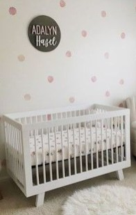 Relaxing Baby Nursery Design Ideas With Polka Dot Themes To Try Asap 32