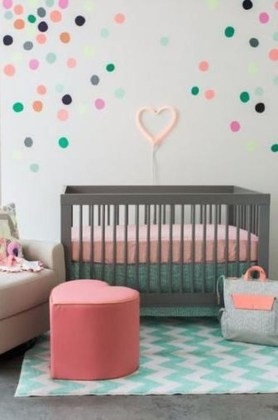 Relaxing Baby Nursery Design Ideas With Polka Dot Themes To Try Asap 33