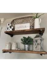 Unique Living Room Floating Shelves Design Ideas For Great Home Organization 03