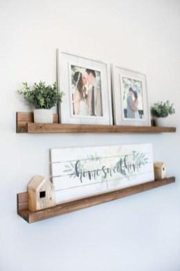Unique Living Room Floating Shelves Design Ideas For Great Home Organization 17
