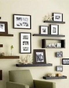 Unique Living Room Floating Shelves Design Ideas For Great Home Organization 29