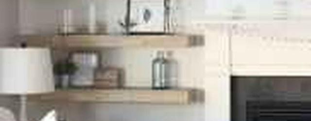 Unique Living Room Floating Shelves Design Ideas For Great Home Organization 31