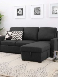 Unusual Black Living Room Design Ideas For More Enchanting 11