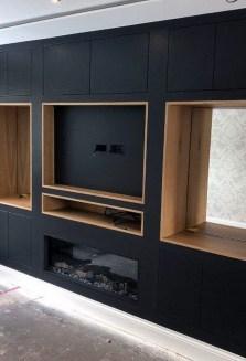 Unusual Black Living Room Design Ideas For More Enchanting 13