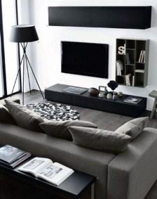 Unusual Black Living Room Design Ideas For More Enchanting 20