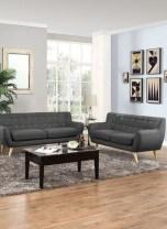 Unusual Black Living Room Design Ideas For More Enchanting 27