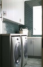 Wonderful Bright Laundry Room Designs Ideas That You Need To Try 10