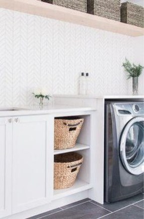 Wonderful Bright Laundry Room Designs Ideas That You Need To Try 17