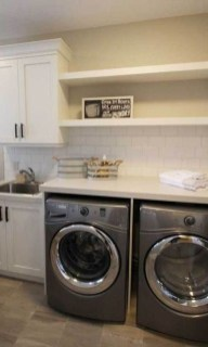 Wonderful Bright Laundry Room Designs Ideas That You Need To Try 22