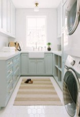 Wonderful Bright Laundry Room Designs Ideas That You Need To Try 30