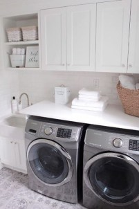 Wonderful Bright Laundry Room Designs Ideas That You Need To Try 33