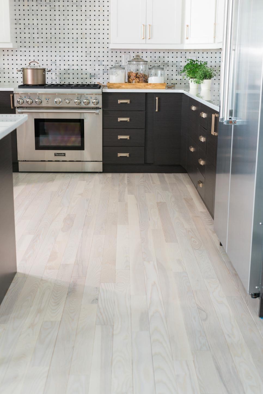 White Kitchens With Laminate Wood Floors