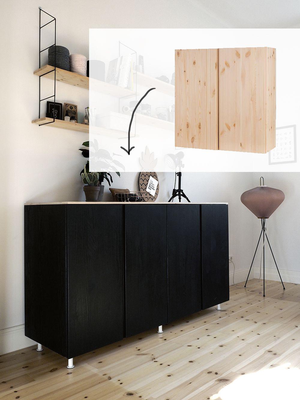 Ikea Kitchen Sideboard Hack