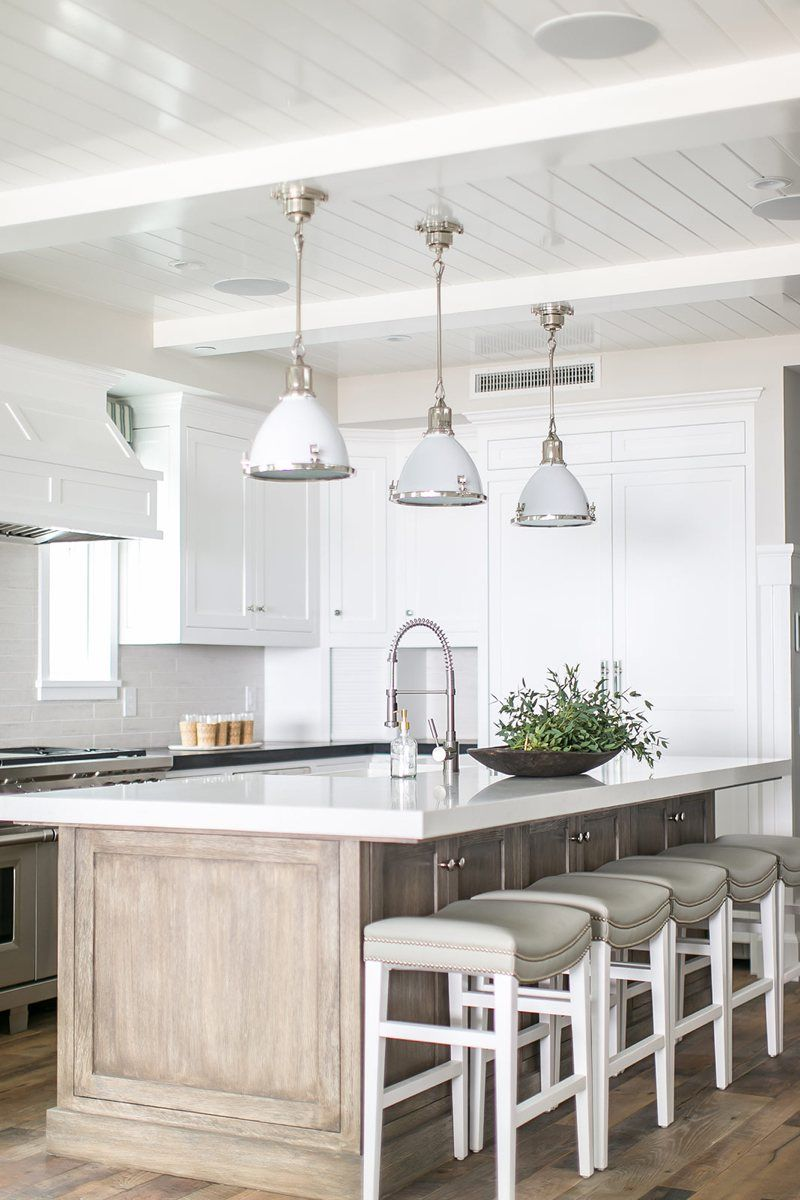White Kitchen Designs With Island