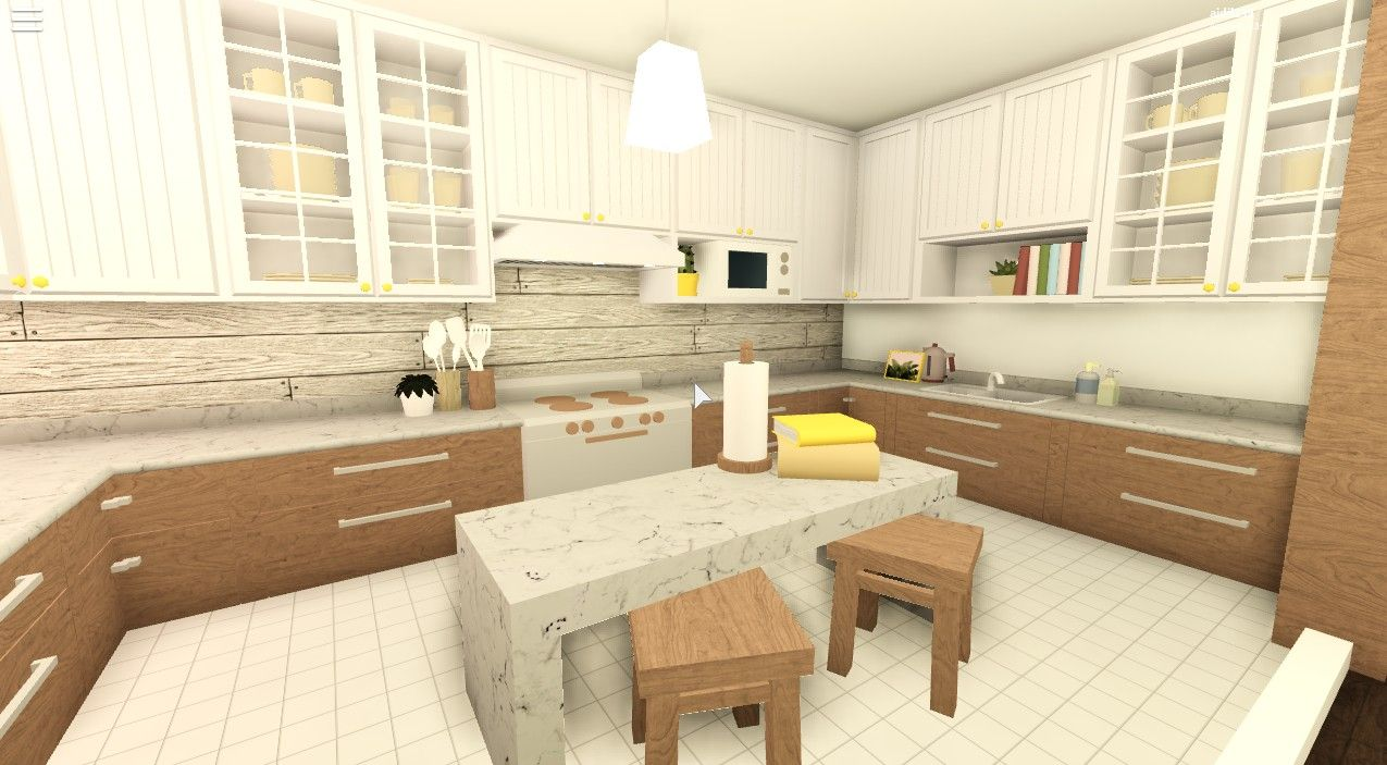 Bloxburg Modern Kitchen Ideas