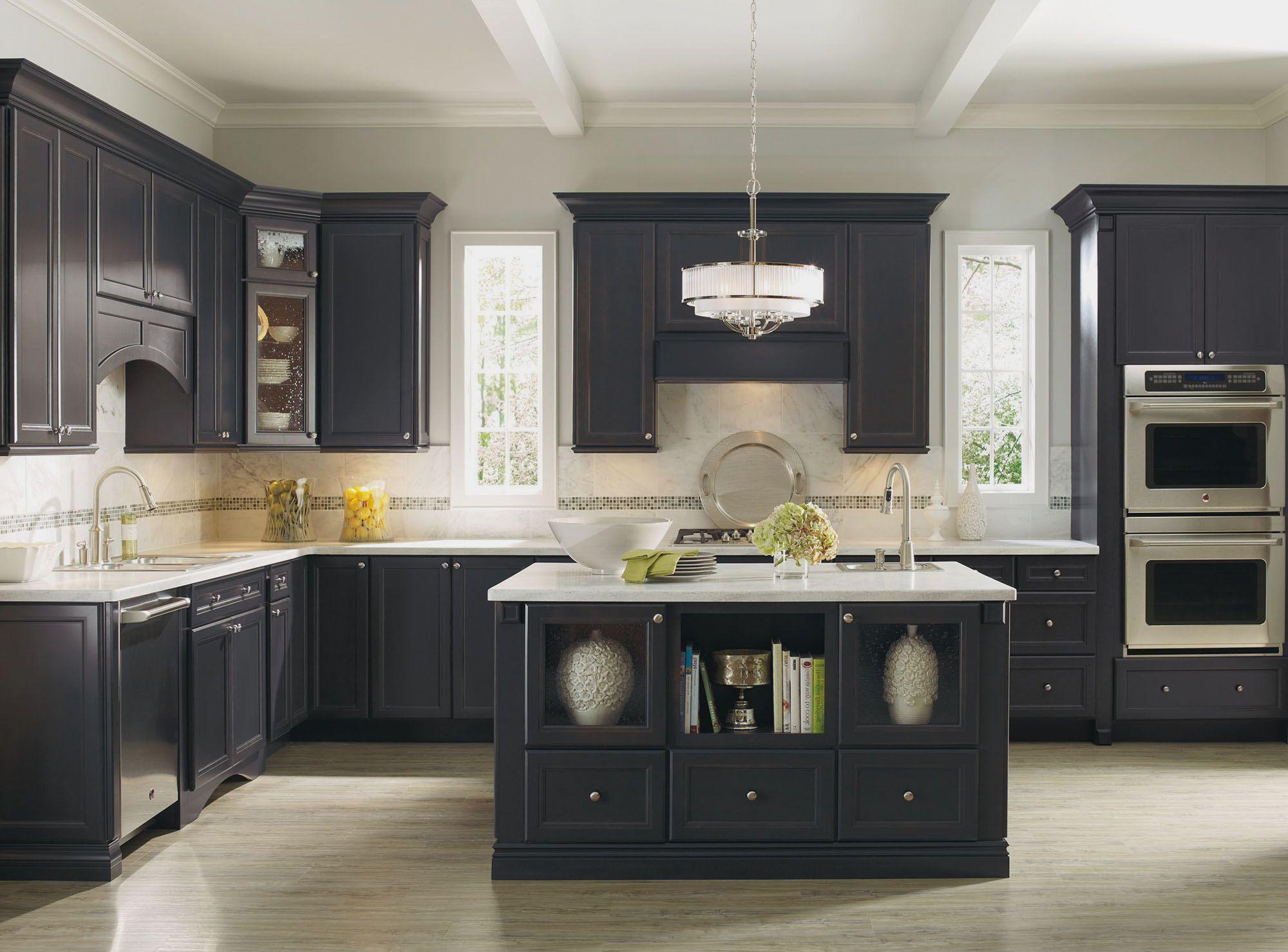 Ikea Kitchen Cabinets Black