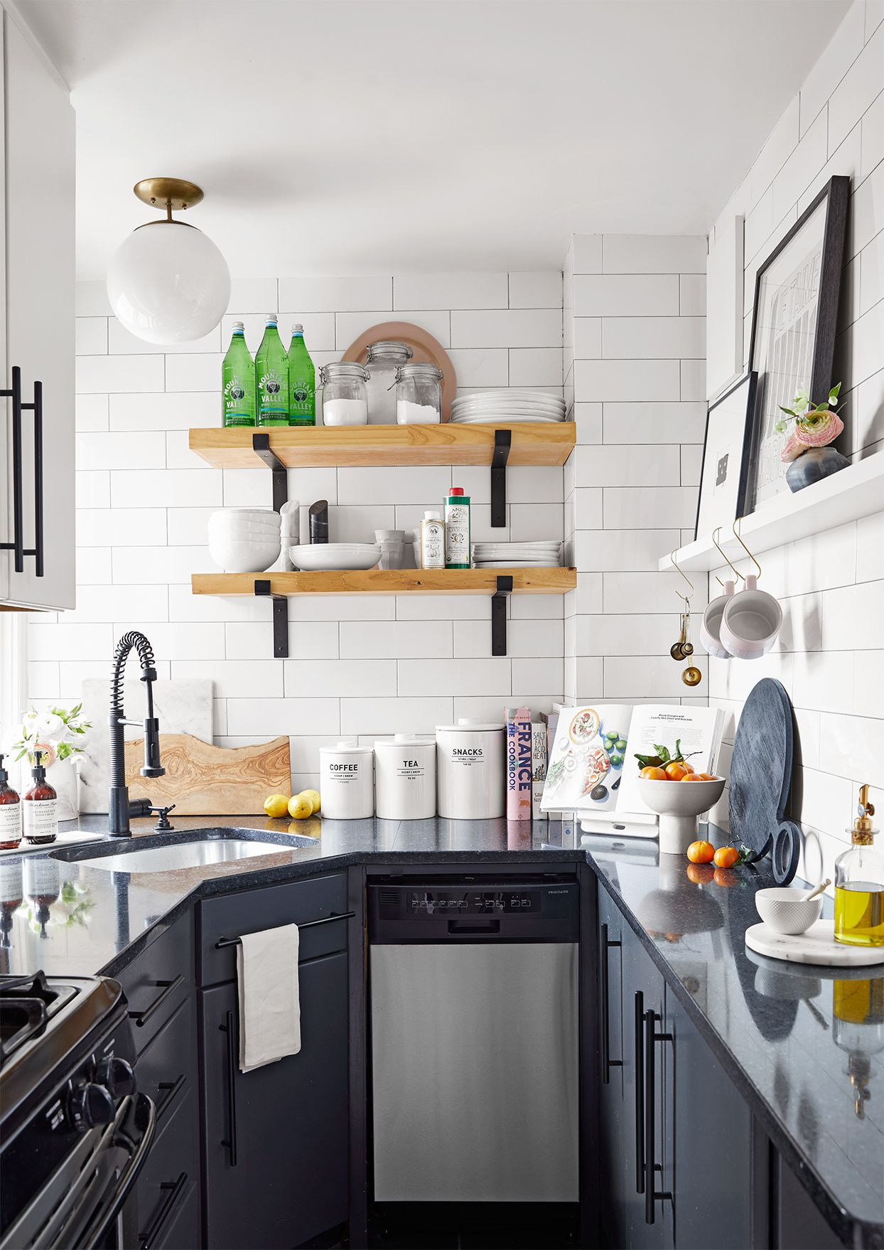 White Kitchen Designs For Small Spaces
