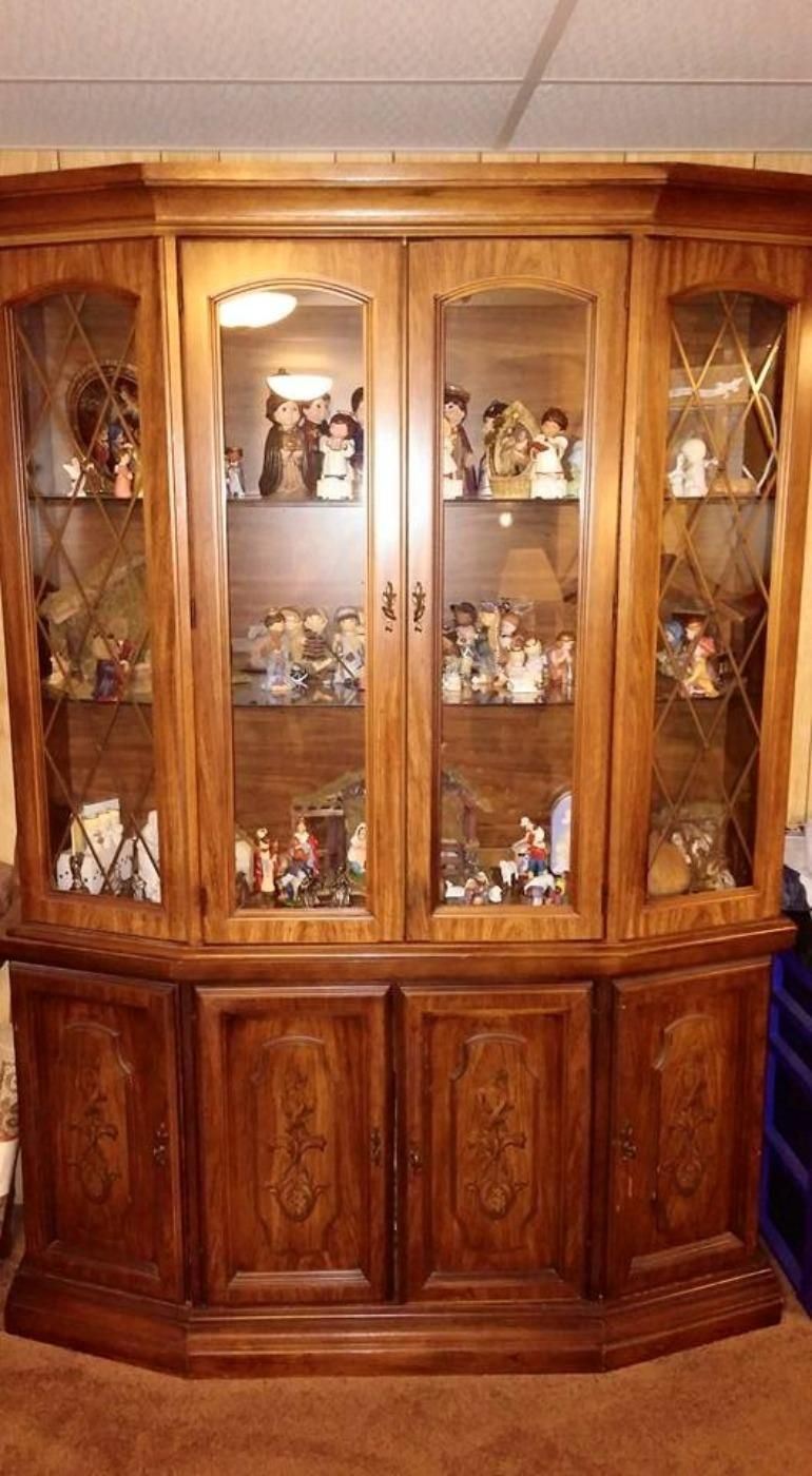 Oak China Cabinets For Sale