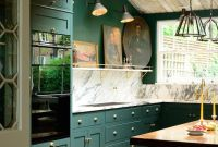 Green Kitchen Walls Images