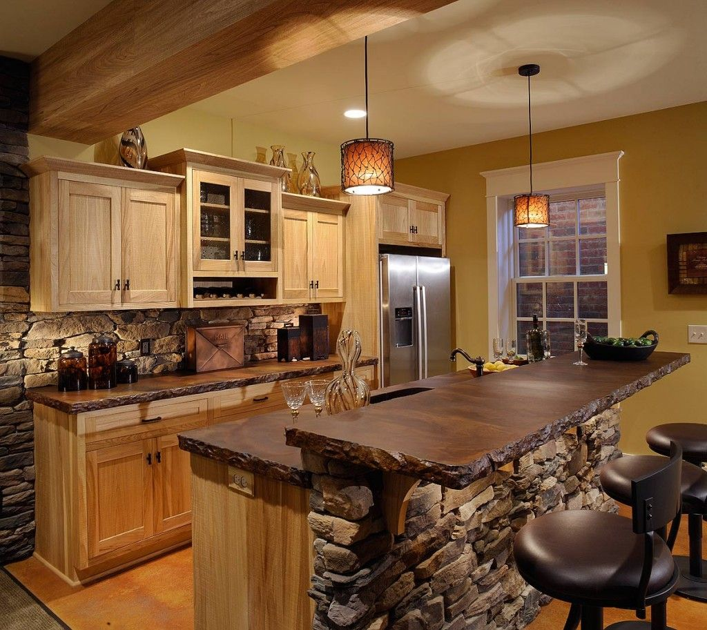 Small Rustic Kitchens Pinterest