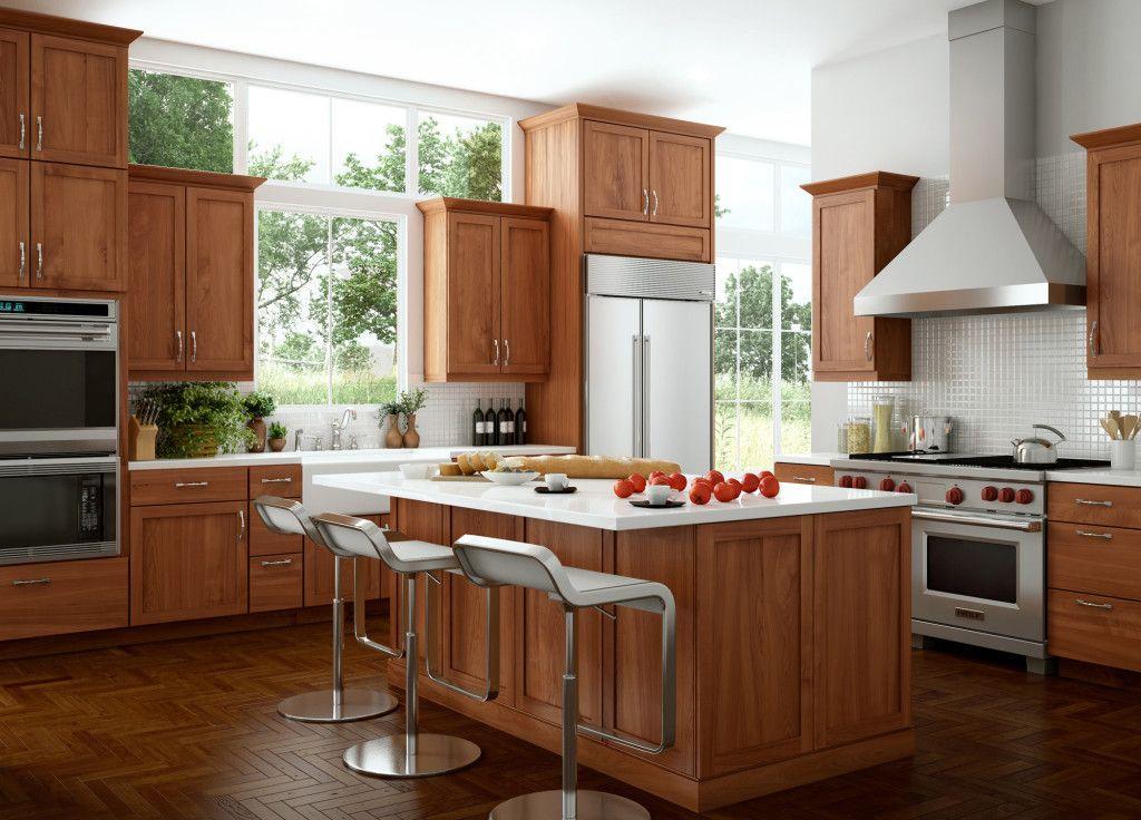 Cherry Kitchen Cabinets 2020