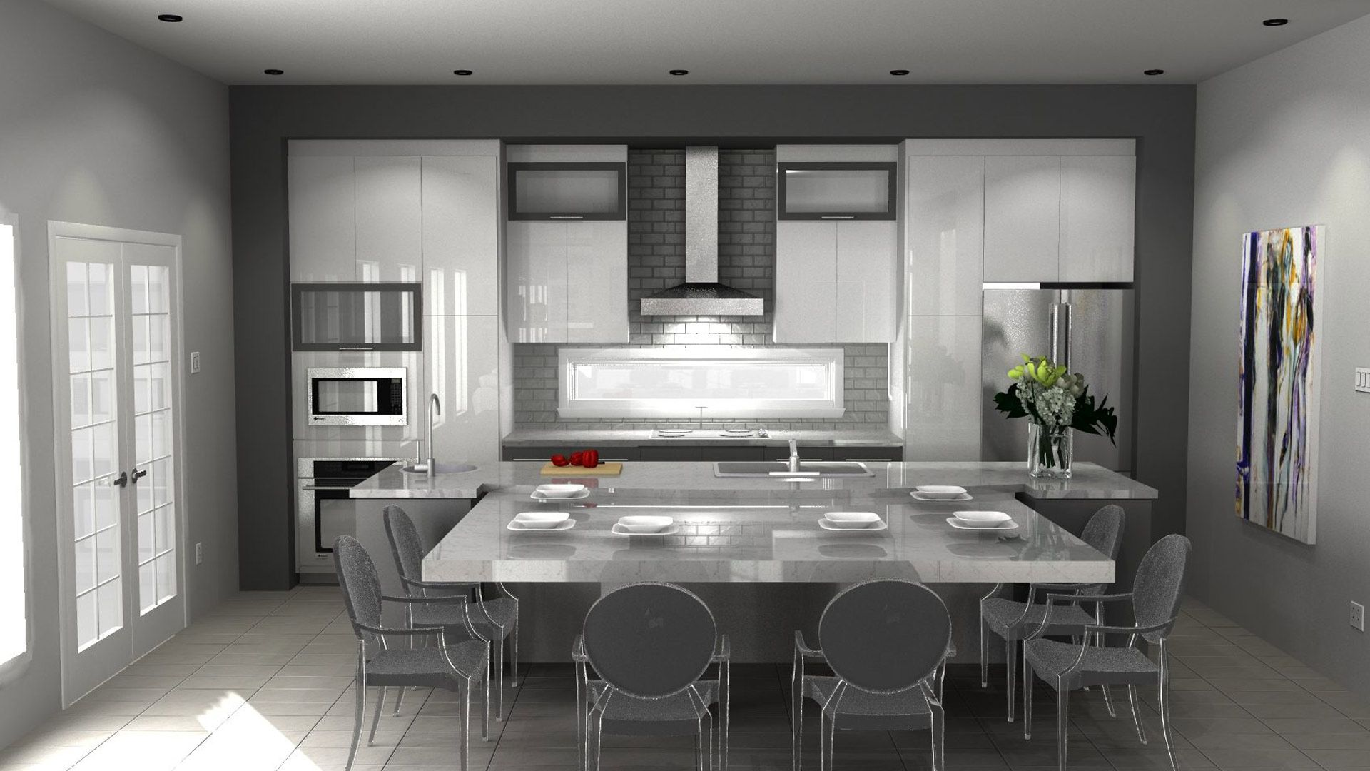 Transitional Style Kitchens 2020