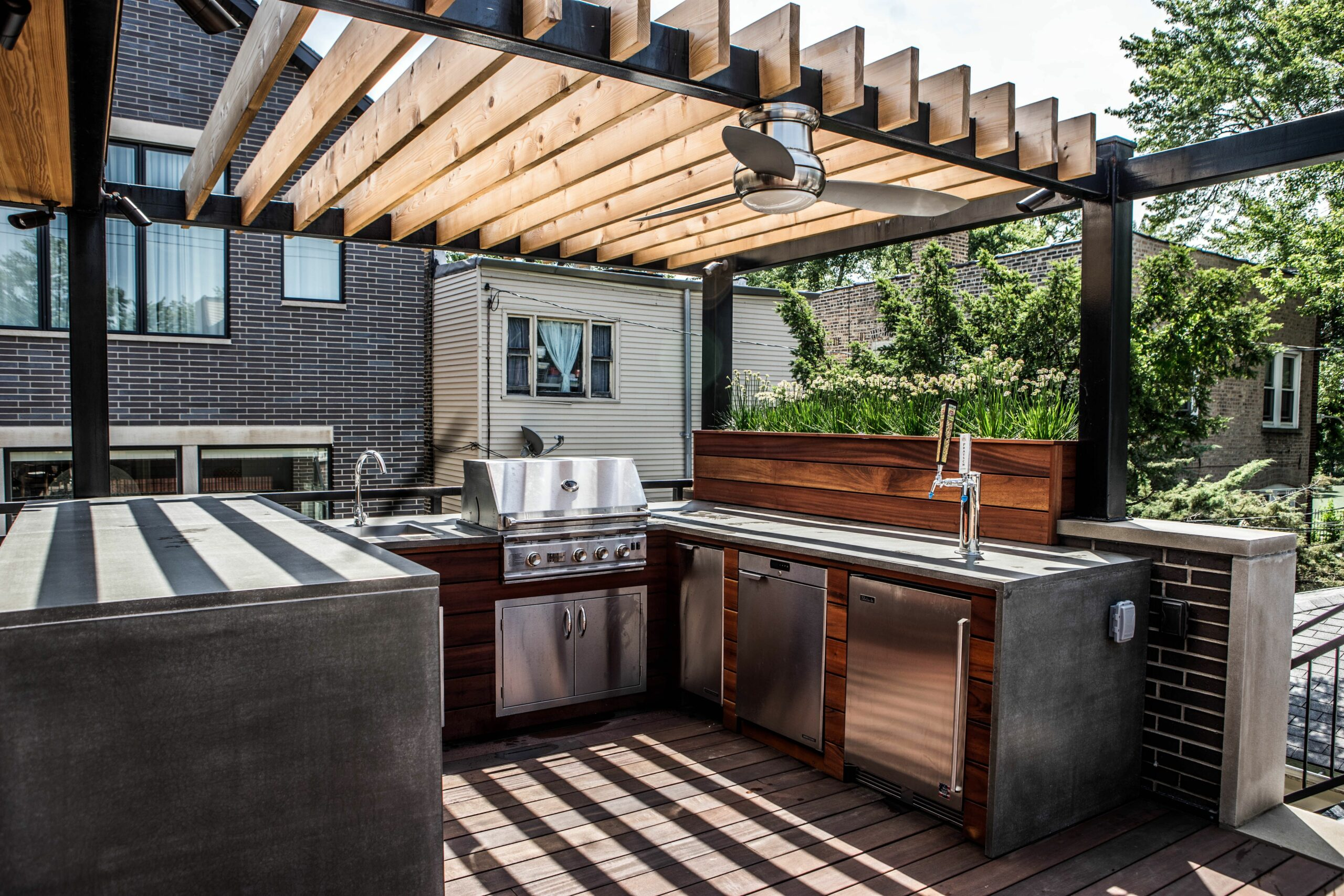 Rustic Outdoor Kitchens Ideas