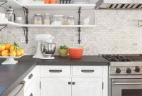 Kitchens With Grey Cabinets And White Countertops