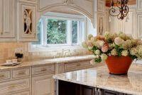 Kitchen Cabinets In Antique White