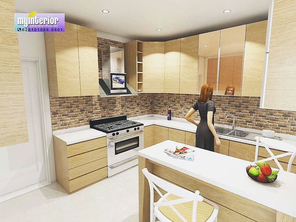 Design Kitchen Set Modern Minimalis