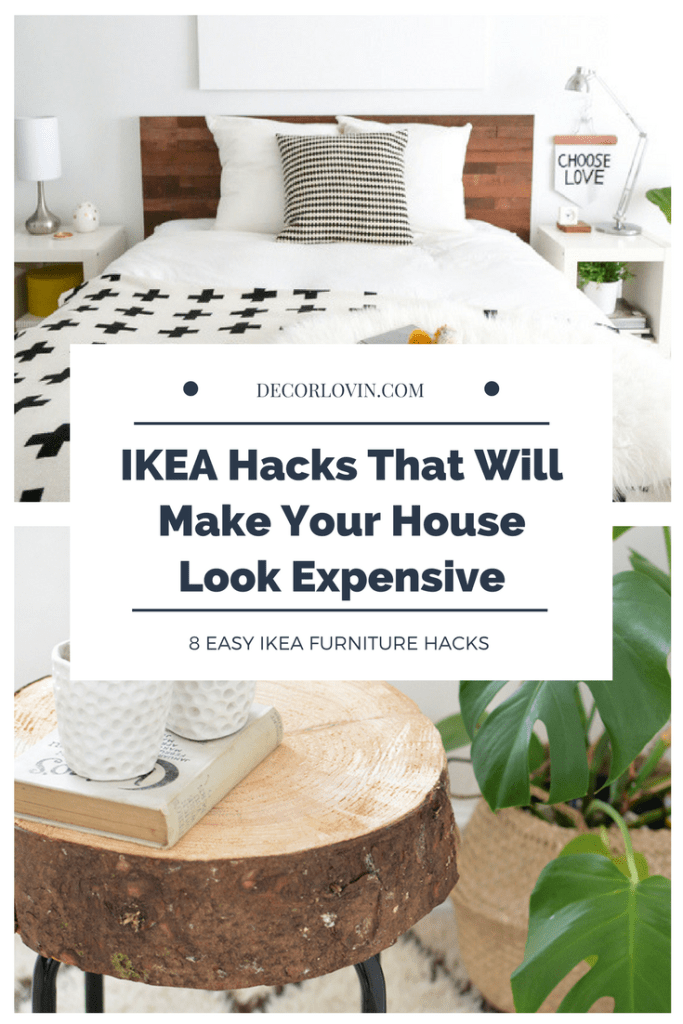 IKEA Hacks That Will Make Your House Look Expensive