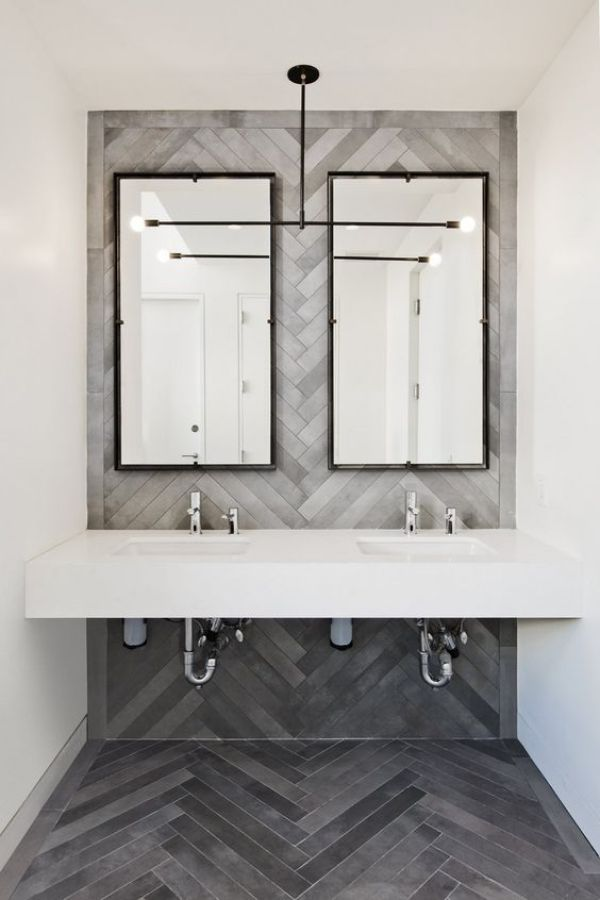 15 awesome tile ideas for your bathroom