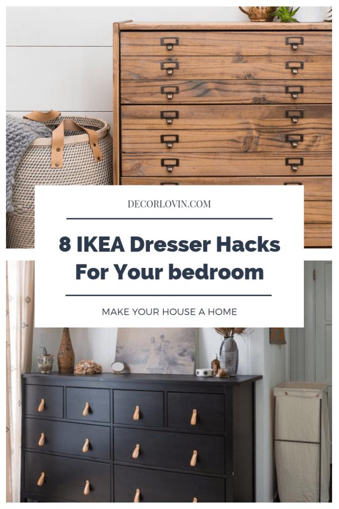 IKEA Dresser Hacks You Need For Your Bedroom