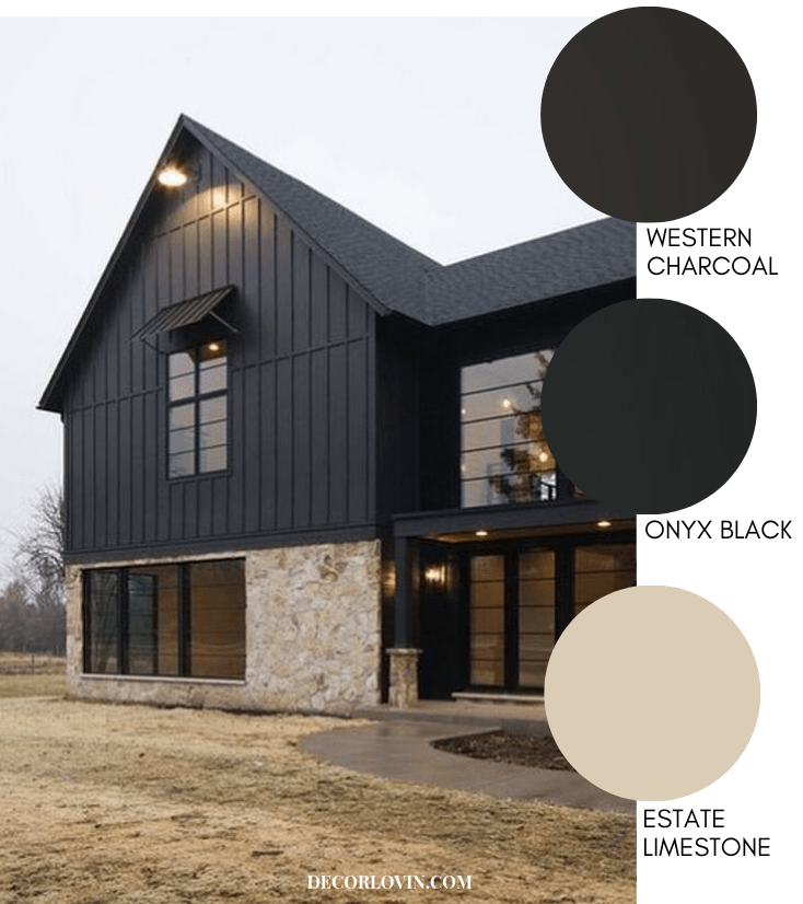 Modern Farmhouse Style Exterior Paint Colors
