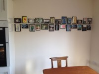 Unusual ways to hang pictures, picture display, picture ...