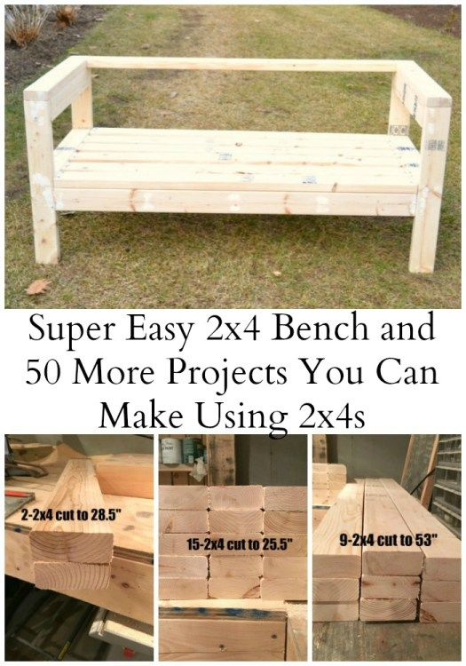 2×4 Projects Diy