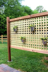 Home Decorating DIY Projects: Wood Patio Privacy Screen ...