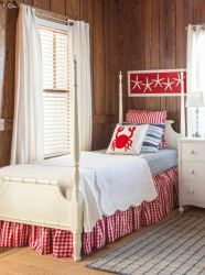 cottage bedroom beach bedrooms coastal decor decorating furniture interior retro loombrand nautical chic lake colors interiors inspiration lighting cottages