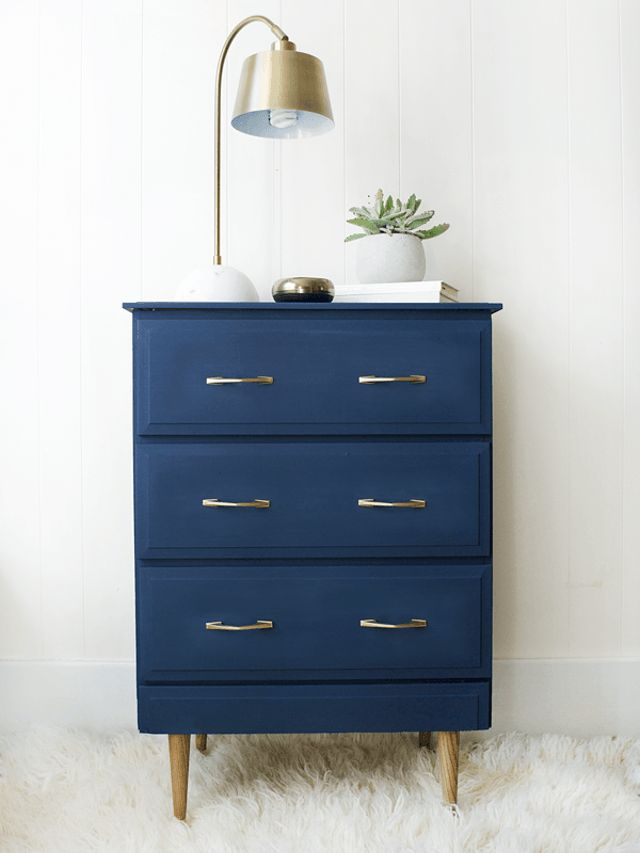 Furniture  Bedrooms  14 DIYs to Add Blue to Your Home