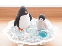 クレイ親子ペンギン