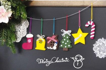 クリスマス子供粘土教室 北九州市小倉