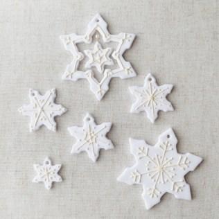 生徒さま作品 / クリスマスオーナメント/ 北九州市小倉クレイクラフト教室 Clay Craft* Decorocca