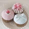 アイシング風クレイカップケーキ