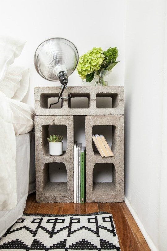 10 Ways to Make Cinderblock Furniture (That Doesn't Look Totally Terrible)
